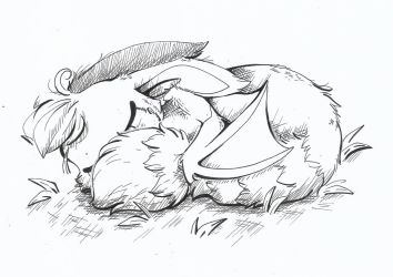 Inktober 2018-Tranquil by CutePencilCase