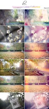 Beautiful Outrageous Colours Photoshop Action Pack by Lady-Tori