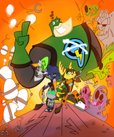 Ratchet and Clank by zenia