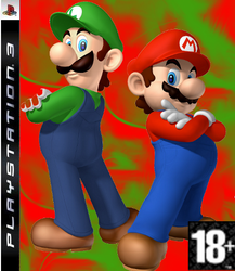 Mario and Luigi PS3 by jamesdude55