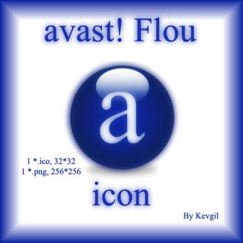 Avast Flou icone by Kevgil