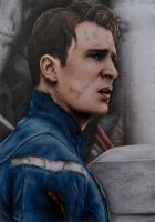 Captain America by jointshadow