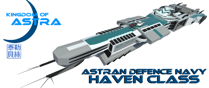 Haven Class Heavy Cruiser [ADN] by Gwentari