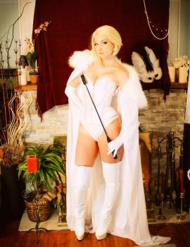 The Hellfire Club's White Queen by CosplayButterfly