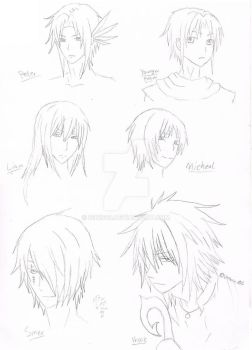 Neverland Head shots! by Ignis03