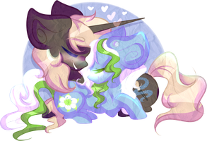 Commission: amazing-artsong (+SPEEDPAINT) by OliveCow