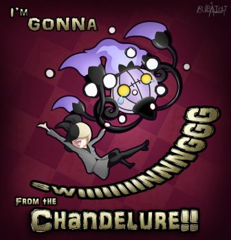 Sia's Chandelure by B-LightY-Jung
