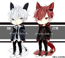 [SETPRICE*CLOSED]Lineheart*5 by Relxion-kun