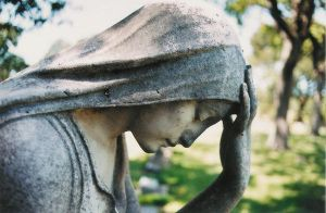 Cemetary Statue by spicorder-stock