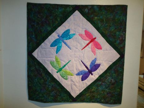 Dragonfly Quilt by KnottyCovers