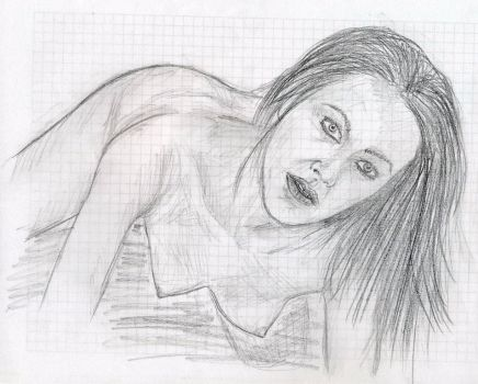 Nude woman 1 by Moldave