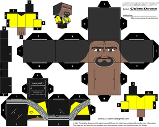 Cubee - Commander Worf by CyberDrone