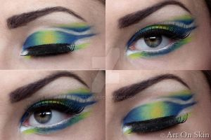 Green and Blue by hennyka