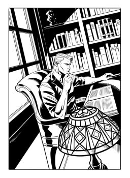In The Study - Lazarus Gray Volume 7 by GeorgeSellas