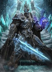 The Lich King by Ze-l