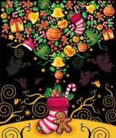 Christmas greeting card by d-i-a-n-k-a