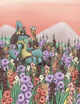 Flower King by FoxHolliday