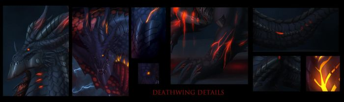 Deathwing details by Ghostwalker2061