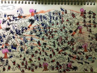 The samurai wars by harryleung200411
