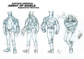 Captain America Redesign 2 by Grailee