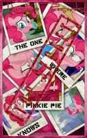 MLP : The One Where Pinkie Pie Knows Movie Poster by pims1978