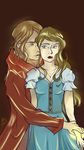 Rumbelle touch 2 by BlueBirdOfHapiness
