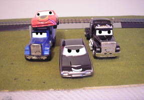 The Train-Hatin' Gangster Cars by Tyler3967