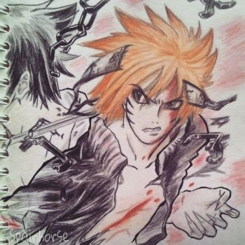 [OLD DRAWING] Naruto by CrisFHatena
