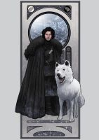 Jon Snow by lucasgomes