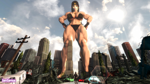 Mega Giant Muscular Connie by GenSamus
