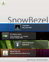 SnowBezel - Growl Theme by dennisRVR