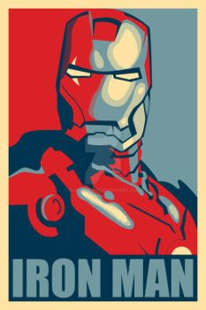 Iron Man Hope Poster Mark 2