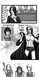 Sex Ed. with Snape by yulihn