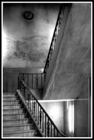 Stairs to the library by StamatisGR