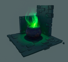 Cauldron by AntheiaVaulor