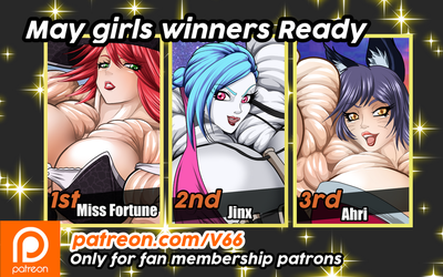 Winners Of Month May Ready in patreon by vertigo66