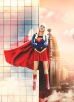 supergirl cosplay by verokitty