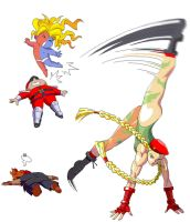 Cammy's new move by saturn0729