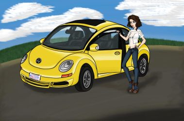 Yellow Bug by Irisa007