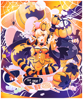 Halloween - Trick or Treat ? by bloodynekokira