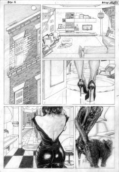 Page 1 Catwoman by TheArtistAladdin