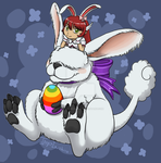 Happy Easter by Tsuani-Inushiro