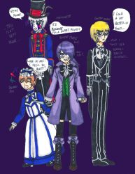 5 Nights at Freddy's x Black Butler part 2 by Mad-Hatter-ison