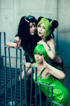 Stone Ocean Girls by icocos