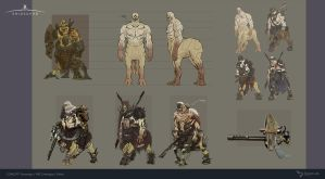 Exiled - Concept Art by BacusStudios