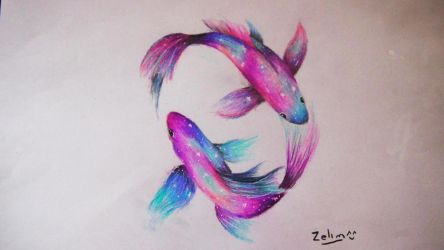 Galaxy Fishes by Zelim27