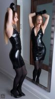Latex dress 12 by okt0br