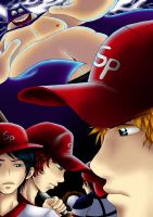 South Park Baseball by Azareea