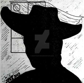 The Shadowman of Twilight Zone by jose77sanchez
