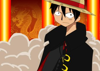 luffy from strong world by stephainestarfire